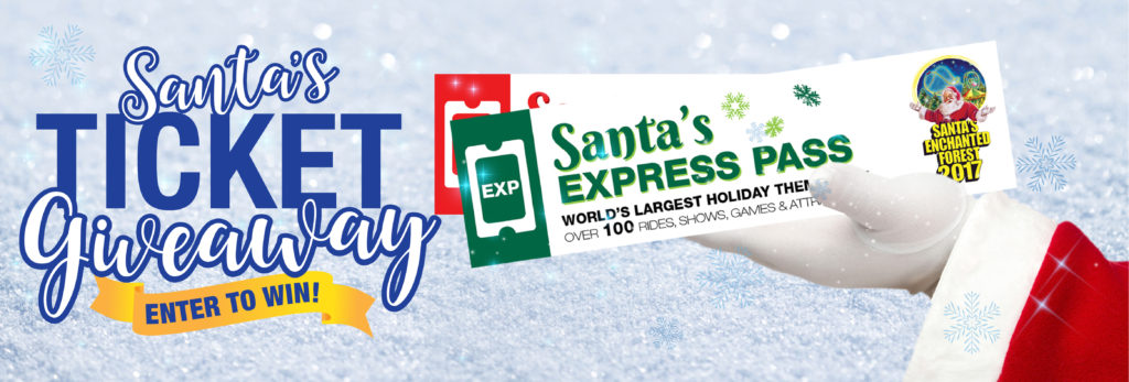 Santa's Ticket Giveaway