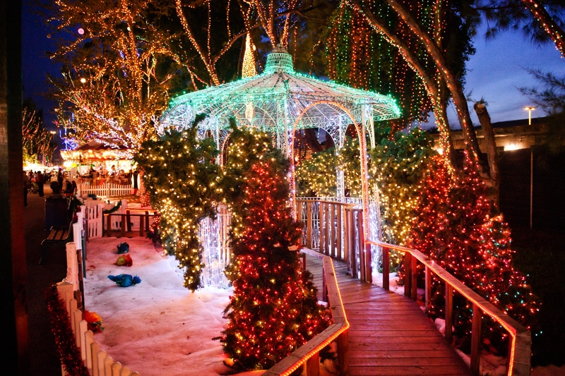 Holiday Lights And Interactive Displays