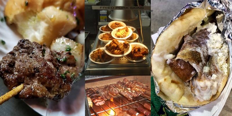 SEF International food collage