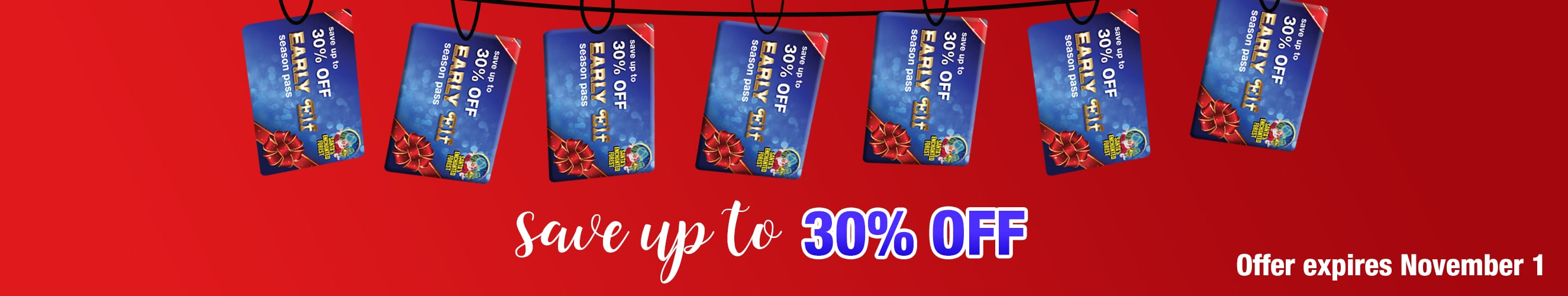 Buy Your Early Elf Season Pass and Save