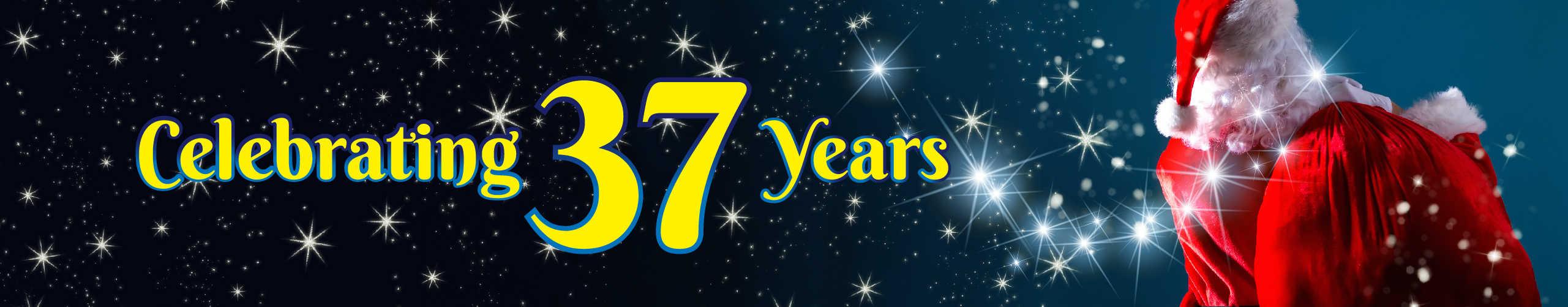 Celebrating 37 Years!