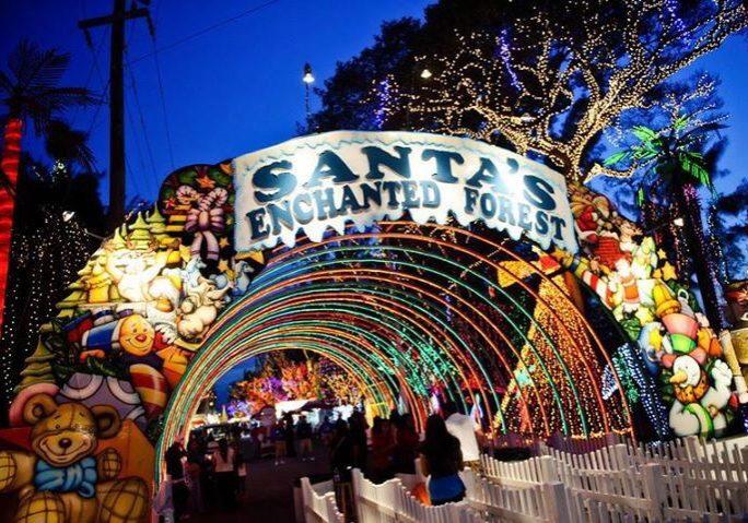 Santa's Enchanted Forest Entrance